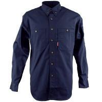 カジメイク ボタンダウンシャツ ネイビー 3L (取寄品)