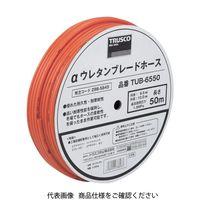 トラスコ中山 TRUSCO αウレタンブレードホース 6.5X10mm 100m ドラム巻 TUB65100 1巻 298ー5853 (直送品)