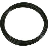 トラスコ中山 TRUSCO ポリウレタンチューブ 12X8.0mm 10m巻 ブラック TEN1210 1巻 231ー7184 (直送品)