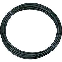 トラスコ中山 TRUSCO ポリウレタンチューブ 4X2.5mm 10m巻 ブラック TEN4X2.510 1巻 231ー7397 (直送品)