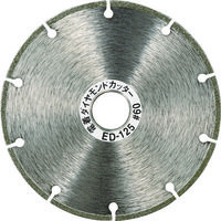 トラスコ中山(TRUSCO) 電着ダイヤモンドカッター 乾式用 125X1.6X22 ED-125 1枚 272-6351 (直送品)