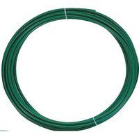 トラスコ中山(TRUSCO) ポリウレタンチューブ 10X6.5mm 10m巻 緑 TEN-10-10 GN 1巻 231-7028 (直送品)