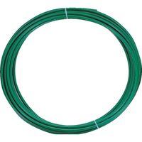 トラスコ中山 TRUSCO ポリウレタンチューブ 4X2.5mm 10m巻 グリーン TEN4X2.510 1巻 231ー7419 (直送品)