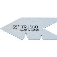 トラスコ中山 TRUSCO センターゲージ 焼入品 測定範囲55° 55Y 1個 229ー6055 (直送品)