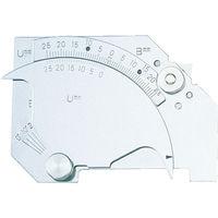 トラスコ中山 TRUSCO 溶接ゲージ 寸法測定精度±0.6mm TWGU7M 1個 229ー7353 (直送品)