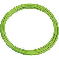 トラスコ中山 TRUSCO ポリウレタンチューブ 10X6.5mm 10m巻 ライトグリーン TEN1010 1巻 231ー7044 (直送品)