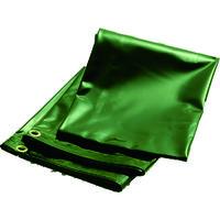 トラスコ中山 TRUSCO 溶接遮光シートのみ 0.35TXW970XH1970 深緑 B3DG 1枚 255ー3104 (直送品)