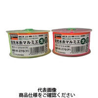 トラスコ中山(TRUSCO) 蛍光水糸マルミエ 細 500m ピンク MI-500 P 1個 215-4188 (直送品)