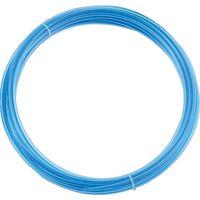 トラスコ中山(TRUSCO) ポリウレタンチューブ 6X4.0mm 10m巻 透明青 TEN-6-10 CBL 1巻 231-6609 (直送品)