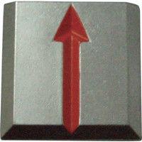 トラスコ中山 TRUSCO クリアーライン 貼付式 5枚入 TCL5 1セット(5枚:5枚入×1パック) 274ー6948 (直送品)