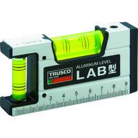 トラスコ中山(TRUSCO) 箱型アルミレベル 100mm LAB-100 1本 229-6977 (直送品)