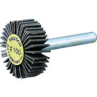 トラスコ中山 TRUSCO ダイヤ軸付フラップホイール オールダイヤ Φ10X軸径3 100# PDF10103A 216ー8049 (直送品)