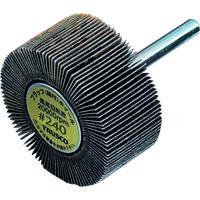 トラスコ中山(TRUSCO) フラップホイール 外径30X幅25X軸径6 240# (5個入) UF3025 240 1箱(5個) 144-6622 (直送品)