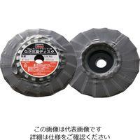 トラスコ中山(TRUSCO) GP三面ディスク アランダム Φ100 150# (5枚入) GP1003F 150 1箱(5枚) 114-9253 (直送品)