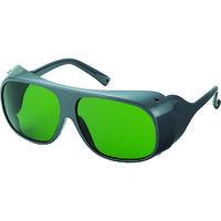 TRUSCO(トラスコ中山) 保護メガネ・ゴーグル 2眼型遮光グラス ガス溶接用 JISプラスチック#3 GS70W 1個 126-3943 (取寄品)