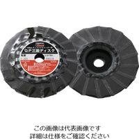 トラスコ中山 TRUSCO GP三面ディスク アランダム Φ100 5枚入 320# GP1003F 156ー9431 (直送品)