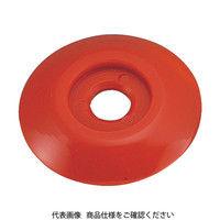 トラスコ中山(TRUSCO) ポイントベース No.3 赤 (10枚入) TPB-3R 1パック(10枚) 274-6212 (直送品)