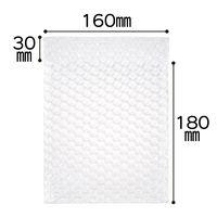ミナパック(R)封筒袋 160×180+30mm 半透明 1セット(300枚:100枚入×3パック) 酒井化学工業