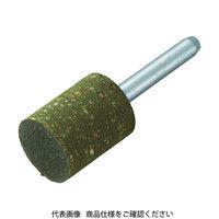 トラスコ中山 TRUSCO ゴム軸付砥石 Φ25X幅25X軸6 #120 5本入 MI1225M  374ー9797 (直送品)