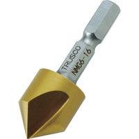 トラスコ中山 TRUSCO 六角軸ナイスメンG 1枚刃 16mm チタンコーティング NMG616 1本 391ー1667 (直送品)