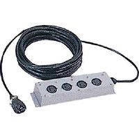 日本電産テクノモータ NDC 電源延長コード20m COOD20 1個 394ー0764 (直送品)