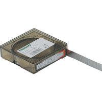 トラスコ中山 TRUSCO フィラーゲージ 0.01mm厚 12.7mmX1m ステンレス製 TFG0.01M1 250ー8036 (直送品)