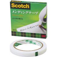 スリーエム スコッチ(R)メンディングテープ 12mm×50m大巻 810-3-12 1セット(3巻:1巻×3)