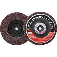 トラスコ中山 TRUSCO GPナイロンミックスディスク ねじ込み Φ100 5個入 320# GPNM100AL 275ー6145 (直送品)