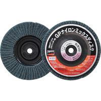 トラスコ中山 TRUSCO GPナイロンミックスディスク ねじ込み Φ100 5個入 600# GPNM100AL 275ー6153 (直送品)