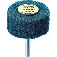 トラスコ中山 TRUSCO ナイロン軸付ホイール 外径100X厚25X軸6 5個入 600# UFN1025 114ー8508 (直送品)