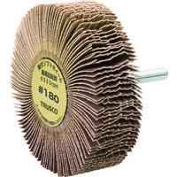 トラスコ中山(TRUSCO) 軸付ソフトホイール 外径80X厚25X軸6 180# (5個入) YS825 180 1箱(5個) 117-7184 (直送品)