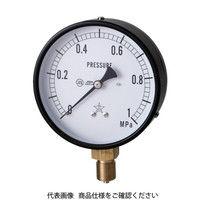 右下精器製造 右下 一般圧力計 G411211M0.6MP 1個 325ー9986 (直送品)