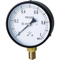 右下精器製造 一般圧力計 G411-211-M-0.16MP 1個 325-9935 (直送品)
