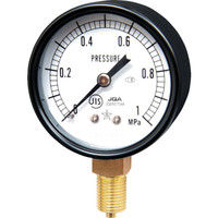 右下精器製造 右下 一般圧力計 G211111M1MP 1個 325ー9439 (直送品)