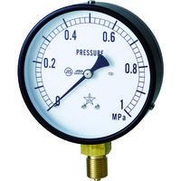 右下精器製造 一般圧力計 G411-211-M-0.1MP 1個 325-9943 (直送品)