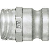 日東工器 レバーロックカプラ LF-8TPM-AL 1個 120-9981 (直送品)