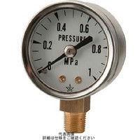 右下精器製造 右下 スター (圧力計) S010.25MP 1個 308ー4132 (直送品)