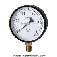 右下精器製造 右下 スター (圧力計)(A枠立型・φ75) 圧力レンジ0.0〜0.40MPa S-31-0.4MP 1個 321-3994 (直送品)