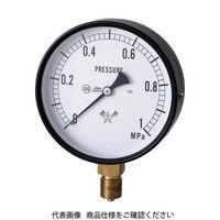 右下精器製造 右下 スター (圧力計)(A枠立型・φ100) 圧力レンジ0.0〜2.50MPa S-41-2.5MP 1個 321-4206(直送品)