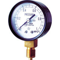 右下精器製造 スター (圧力計) S-11-0.1MP 1個 308-4205 (直送品)