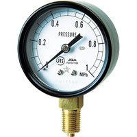 右下精器製造 一般圧力計 G211-111-M-0.1MP 1個 325-9374 (直送品)