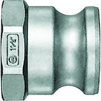 日東工器 レバーロックカプラ LA-6TPF-SUS 1個 120-7105 (直送品)