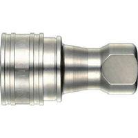 日東工器 SPカプラ タイプA 鋼鉄製 ニトリルゴムNBR(SG) 6S-A 1個 292-1642 (直送品)