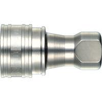 日東工器 SPカプラ タイプA 鋼鉄製 ニトリルゴムNBR(SG) 8S-A 1個 292-1651 (直送品)
