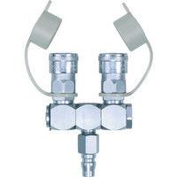 日東工器 ラインカプラ(空気用ロータリー RT 1個 113ー3705 (直送品)