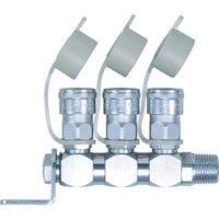 日東工器 ロータリー式ラインカプラ RE型 RE 1個 113-3721 (直送品)