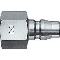 日東工器 ハイカプラ 鋼鉄製 400PF 1個 113-2296 (直送品)