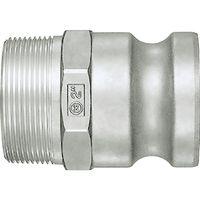 日東工器 レバーロックカプラ LF-16TPM-AL 1個 121-0041 (直送品)