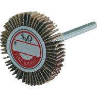 ムラコ MURAKO 軸付フラップ金具無し外径30幅5軸径3mm 180# KN3005 1セット(10枚:1枚入×10) 326ー3436 (直送品)
