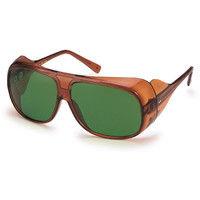 山本光学 保護 スワン 2眼型遮光メガネガス溶接用 YW280 1個 128-4851 (取寄品)